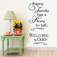 Welcome To Our Home Family Quote Wall Decals Decorative Removable Heart Vinyl Wall Stickers Home Decor Bed Room Home Decoratrom Family Quotes Quote Wall Decalvinyl Wall Stickers Aliexpress
