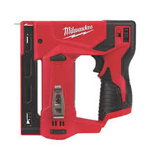 Milwaukee M12 Bst 0 14mm 12v Li Ion Redlithium Second Fix Cordless Stapler Bare Bare Units Screwfix Com