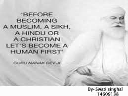 th birth anniversary of guru nanak date