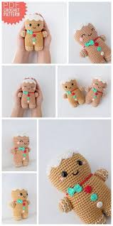 Pin by Wendi Collins on crochet projects to try | Kawaii crochet, Crochet  ornaments, Christmas crochet patterns
