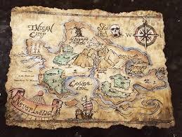 Hand Painted Neverland Maps Neverland Map Neverland Nursery Neverland