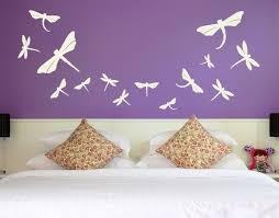 Dragonfly Set Butterfy And Birds Wall Decals Sticker Mural Vinyl Home Decor Contemporary Wall Decals By Style And Apply