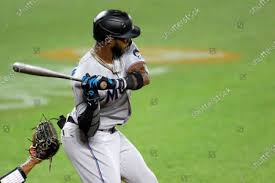 Miami Marlins Monte Harrison waits pitch Baltimore Editorial Stock Photo -  Stock Image | Shutterstock