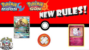Pokémon Sun and Moon (TCG) – Important New Rules (Burn, Gumshoos ...