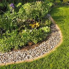 how to organize landscaping borders