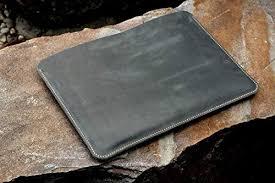 com grey leather macbook pro 13