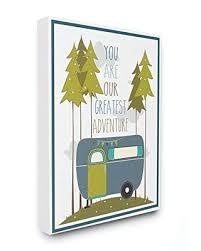 Amazing Savings On Stupell Industries You Are Our Greatest Adventure Plaque Blue Green Canvas Wall Art 16 X 20 Design By Artist Karen Zukowski Finny And Zook