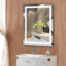 led home bathroom mirror wall mount