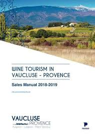 wine tourism in the vaucluse