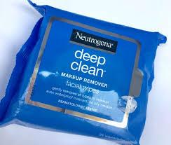 neutrogena deep clean makeup remover