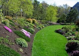garden design ideas hill video and