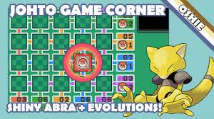 Live Shiny Game Corner Abra + Evolutions in SoulSilver - 1215 ...