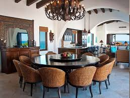 stylish round dining table for 12 seat