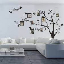 Free Shipping 80 X 100 Huge Xxl Photo Frame Family Tree Removable Wall Stickers Vinyl Art Decal Room Home Decor Home Decor Family Treewall Sticker Aliexpress