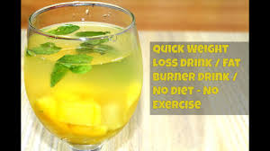 diy drink weight loss lose weight in
