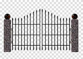 Cartoon Castle Gate Document Fence Silhouette Microsoft Powerpoint Wall Iron Transparent Background Png Clipart Hiclipart