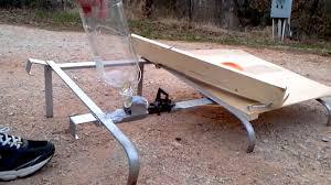 rube goldberg clay pigeon launcher