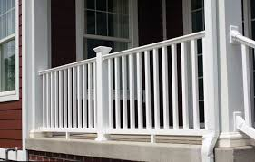 Pin By Fairway Architectural Railing On Fairway Vinyl Deck And Porch Railing V110 Series Vinyl Railing Decks And Porches Railing
