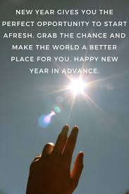 new year s quotes happy new year in advance my love