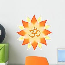 Mandala Om Symbol Aum Wall Decal Wallmonkeys Com