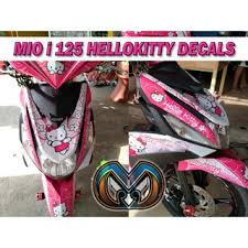 Mio I 125 Hello Kitty Sticker Decals Shopee Philippines
