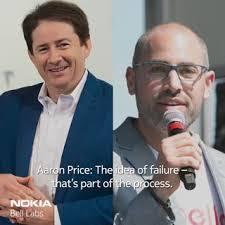 Nokia Bell Labs - Marcus Weldon sat down with Aaron Price,...