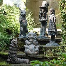 statues sculptures alice in