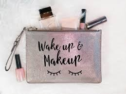 wake up and makeup free svg cut file