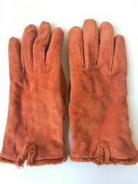 isotoner women s suede leather gloves