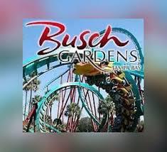 busch gardens ta florida ticket 72