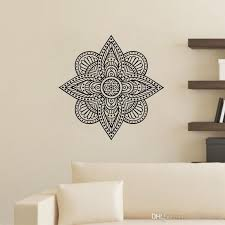 Creative Mandala Wall Stickers Indian Pattern Vinyl Decals Removable Home Decor Art Sticker For Wall Decal Stickers Decal Stickers For Walls From Moderndecal 12 23 Dhgate Com