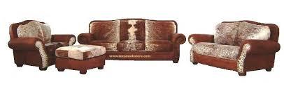 cowhide furniture groups