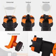 Firstclass Best Choice Powerful 600w Electric Paint Spray Gun Outdoor Fence Painting Tool Home Us Plug