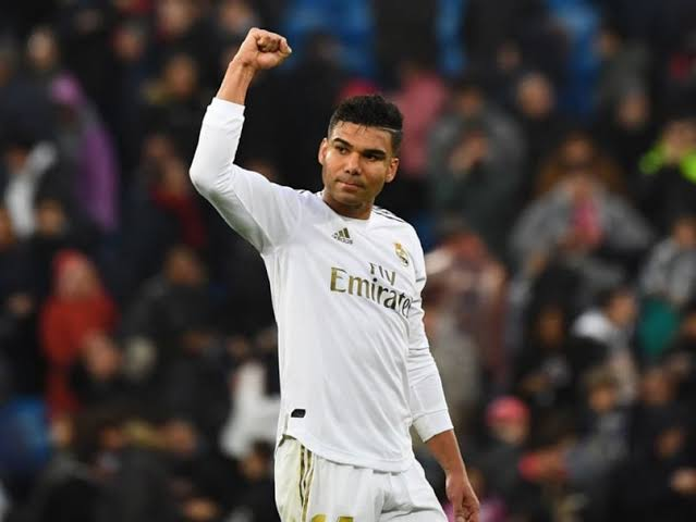 Image result for Casemiro's double""