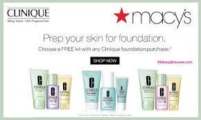 macys clinique 0915 makeup bonuses