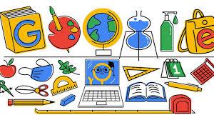 Google: un Doodle speciale per il primo giorno di scuola