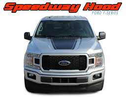 Ford F 150 Stripes Hood Blackout Vinyl Graphics Decal Sw 2015 2020