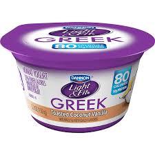 dannon light fit greek yogurt 4 pack