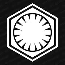 Star Wars First Order Symbol Vinyl Decal The Stickermart