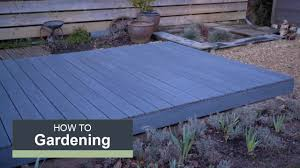 How To Install A Composite Deck With Wickes Youtube