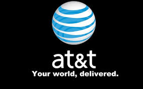 at t logo cell phones technology