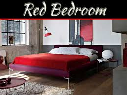 décor of bedroom in red my decorative