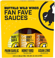 buffalo wild wings 3 pack variety