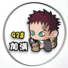 Naruto Gaara Oil Tank Cover Car Stickers The Fullmetal