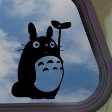 Totoro Black Decal Studio Ghibli Car From Amazon Things I Want