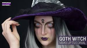 goth glam witch makeup tutorial