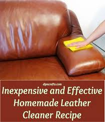 effective homemade leather cleaner
