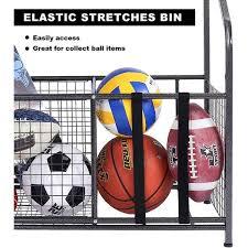 Shop Sports Equipment Garage Organizer Sport Balls Storage Rack Organizer Overstock 31102261