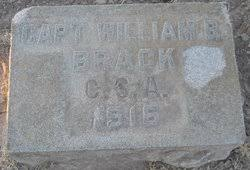 Capt William Bolling Brack (1838-1916) - Find A Grave Memorial