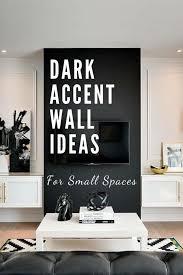 dark accent walls